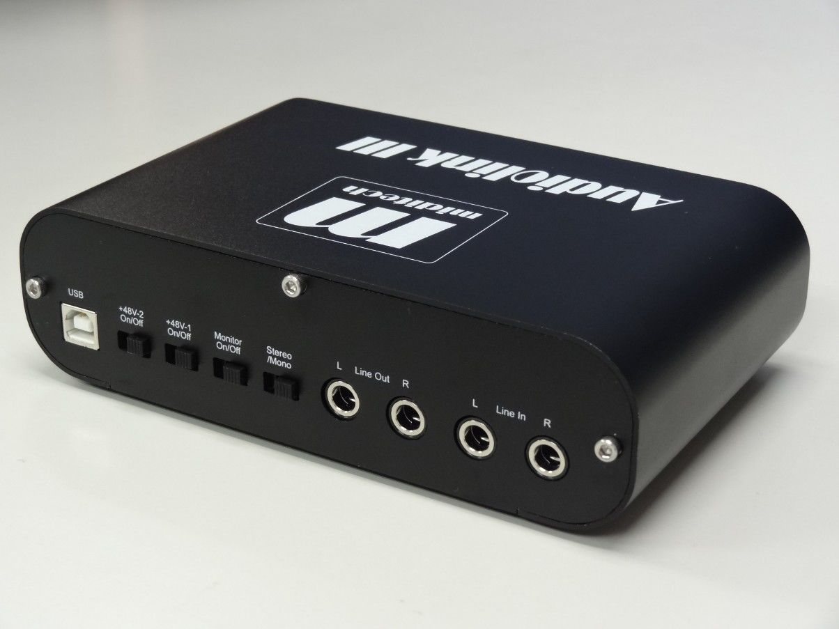 AUDIOLINK III LE Limited Edition black Miditech